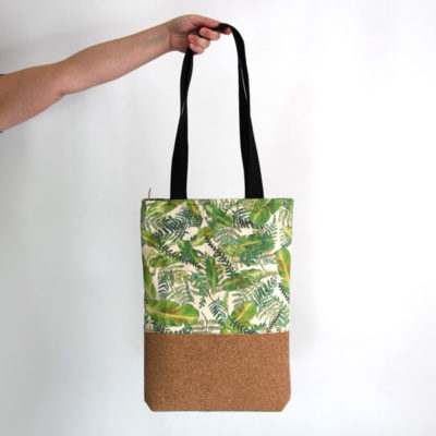 Bolso estampado tropical