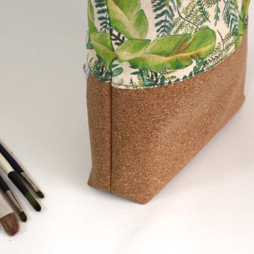 detalle bolso de corcho