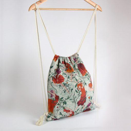mochilas de tela artesanales