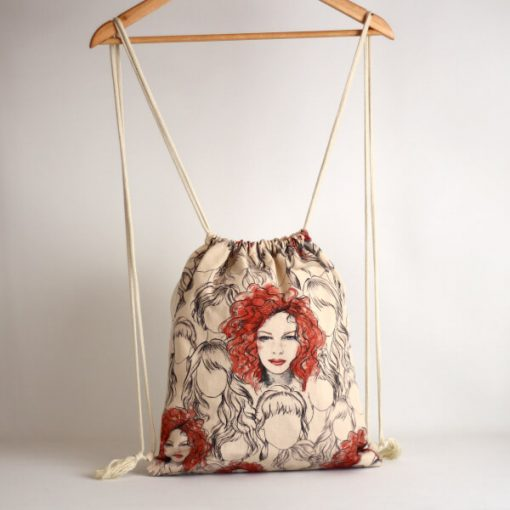 mochila de cuerdas
