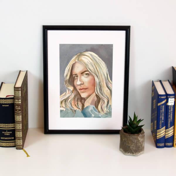 retratos por encargo